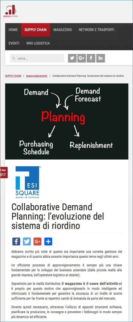 Collaborative Demand Planning
