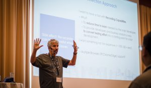 Francisco Mancardi at the CFCAMP2019